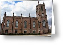 Circa 1818 Gothic 1st Presbyterian Church Huntsville Alabama Usa Greeting Card