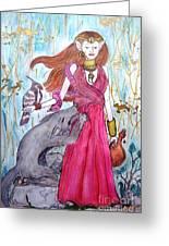 Circe The Sorceress Greeting Card