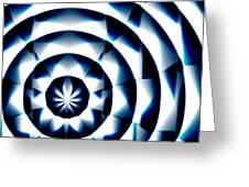 Circle Flower - Macro 1 Greeting Card