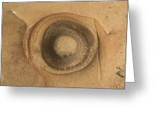Circle Of Rock Greeting Card