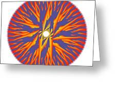 Circle Study No. 74 Greeting Card