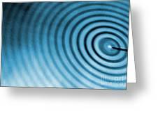 Circular Ripples Greeting Card