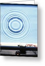 Circular Waves Greeting Card