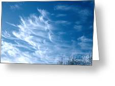Cirrus Cloud Greeting Card