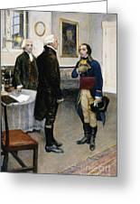 Citizen Gen�t, 1793 Greeting Card