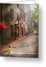 City - Rhode Island - Newport - Journey  Greeting Card