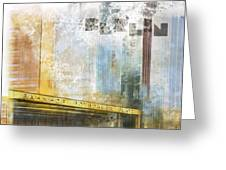 City-art Berlin Potsdamer Platz Greeting Card