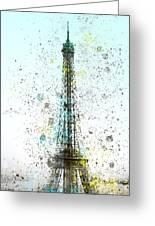 City-art Paris Eiffel Tower II Greeting Card