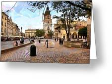 City-hall Krakow Greeting Card