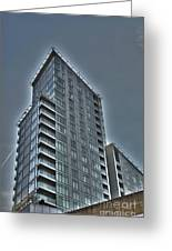 City Living 3 Greeting Card by David Warren