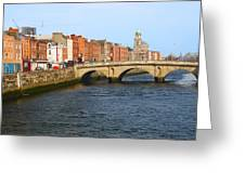 City Of Dublin Greeting Card