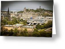 City Of Edinburgh Greeting Card