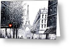 City Of Love Greeting Card