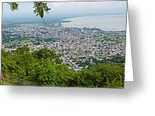 City Of Port Of Spain Trinidad 3 Greeting Card
