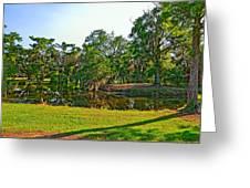 City Park Lagoon Greeting Card