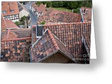 City Roofs Greeting Card