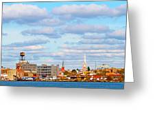 City View Four Greeting Card