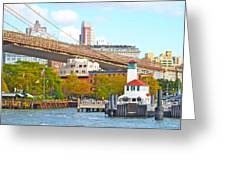 City View Three Greeting Card