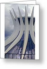 Citymarks Brasilia Greeting Card by Roberto Alamino