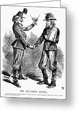 Civil War: Cartoon, 1865 Greeting Card