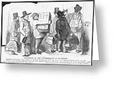 Civil War: Copperhead, 1863 Greeting Card