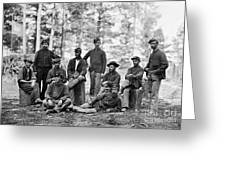 Civil War: Engineers Greeting Card