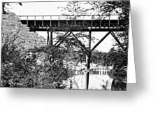 Civil War: Foot Bridge Greeting Card