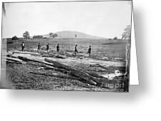 Civil War: Graves, 1862 Greeting Card