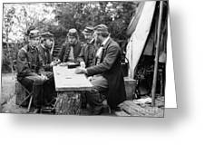 Civil War: Leisure, 1862 Greeting Card