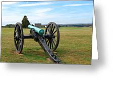 Civil War Lone Canon  Greeting Card