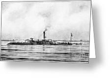 Civil War: Mobile Bay, 1864 Greeting Card