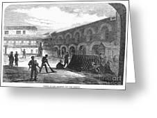 Civil War: New York Fort Greeting Card by Granger