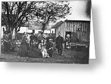 Civil War: Nurses & Officers Greeting Card