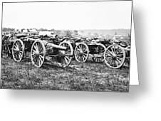 Civil War: Parrott Guns Greeting Card