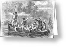 Civil War: Potomac River Greeting Card