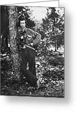 Civil War: Soldier, 1861 Greeting Card