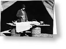 Civil War: Surgeon Greeting Card