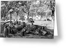Civil War: Torpedo Shells Greeting Card