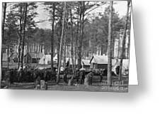 Civil War: Union Camp, 1864 Greeting Card