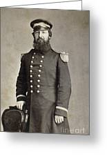 Civil War Union Commander Greeting Card
