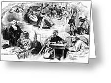Civil War: Women, 1862 Greeting Card