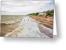 Clacton Beach Greeting Card