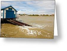 Clacton Lifeboat House Greeting Card