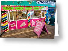 Clacton Pier Shop Greeting Card