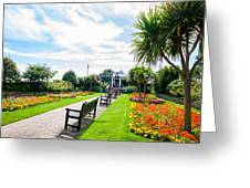 Clacton Pleasure Garden Greeting Card