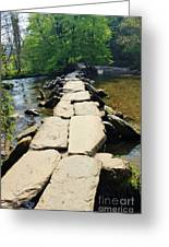 Clapper Bridge-sommerset Greeting Card