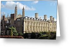 Clare College Cambridge Greeting Card