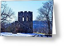 Clark Tower Greeting Card