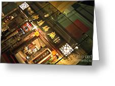 Clarke Quay Restaurant Greeting Card