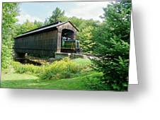 Clarks Covered Bridge Greeting Card